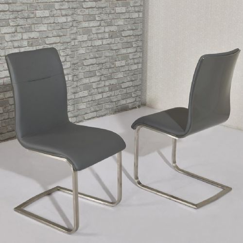 Arielle Dining Chair Grey